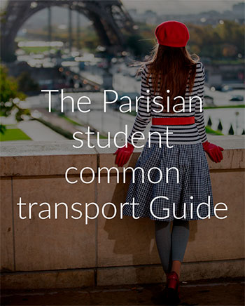 The parisian student common transport guide