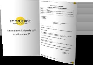 Lettre De Resiliation De Bail Location Meuble Immojeune
